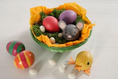Basteln Mit Kindern Kostenlose Bastelvorlage Ostern