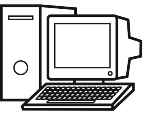 Kostenlose Malvorlage Schule Rechner Zum Ausmalen
