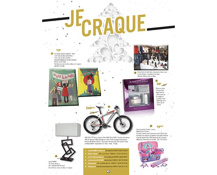 portfolio à Caen et Vire, article Je Craque