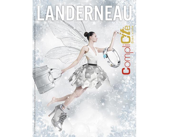 portfolio à Caen et Vire, couverture du magazine Landernau