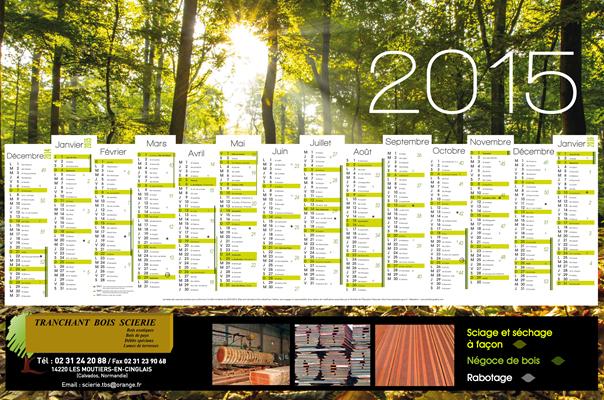 conception calendrier