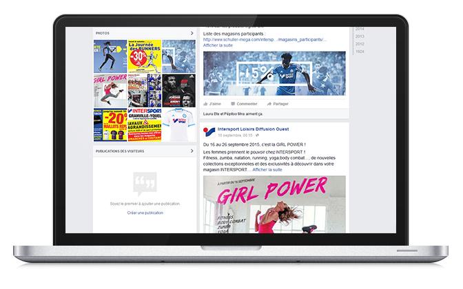 animation Facebook réseaux sociaux