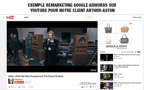 campagne google ads sur youtube