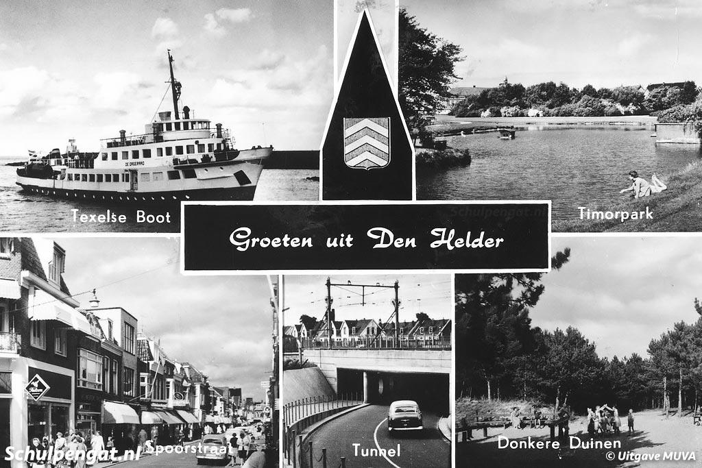 Met de highlights Timorpark, de Spoorstraat in het centrum van Den Helder, de tunnel onder het spoor en de Donkere Duinen.
