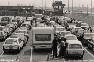 Den Helder – Het veerplein in 1983