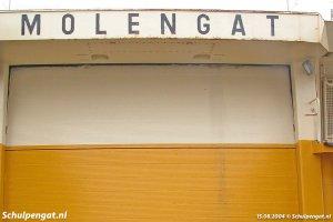 De scheepsnaam van de Molengat (1980)