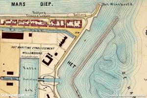 Den Helder – Plattegrond 1864