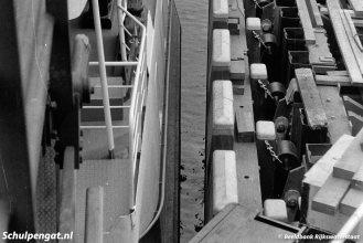 De Marsdiep test de nieuwe fuik in 1964 en het past allemaal.