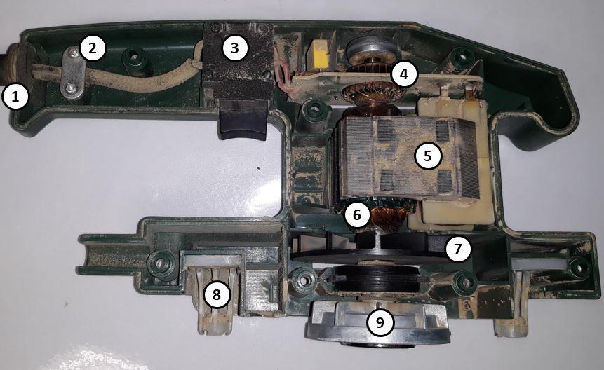 Werking vlakschuurmachine