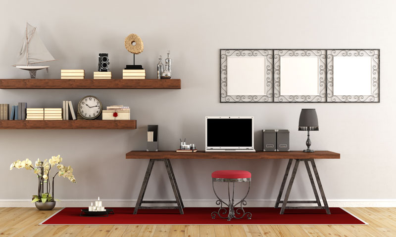 Tips to Tidy Your Home Office for Get Organized Month