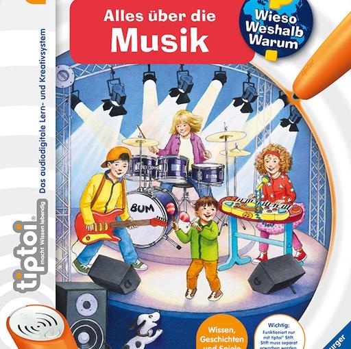 """Kinder entdecken """"Alles über Musik"""" selbstständig und interaktiv"""