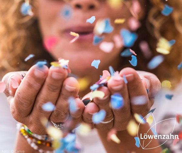 Superkonfetti für die Buchhänder*innen   © Löwenzahn Verlag