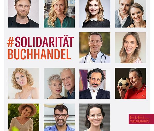 Edel Verlagsgruppe stärkt den Buchhandel mit der Social-Media-Kampagne #SolidaritätBuchhandel
