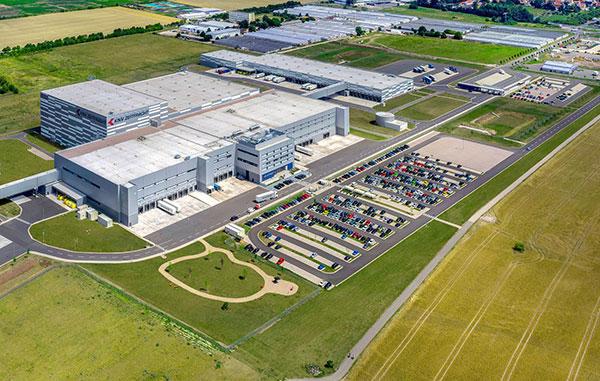 Logistikzentrum der Zeitfracht GmbH in Erfurt | © Zeitfracht