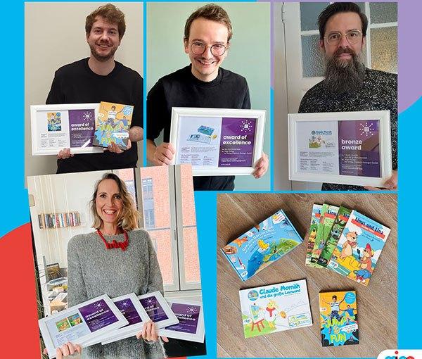 Hamburger migo Verlag mehrfach beim International Creative Media Award ausgezeichnet