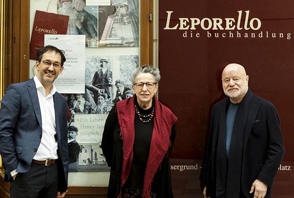 Markus Renk, Rotraut Schöberl und Erwin Riedesser   © Pamela Rußmann