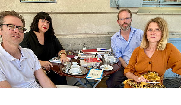 Christian Augustin, Anne Dreesbach, Martin Brinkmann, Bärbel Brands | © privat