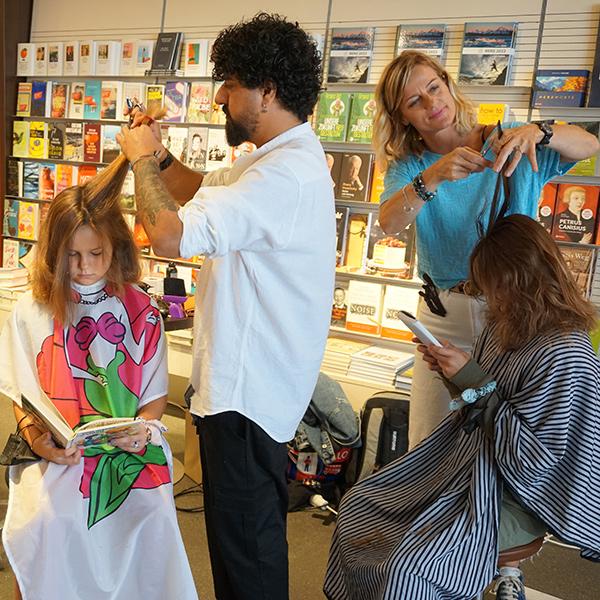 Haarschnitt fürs Vorlesen | © Tyrolia, Brigitte Thaler