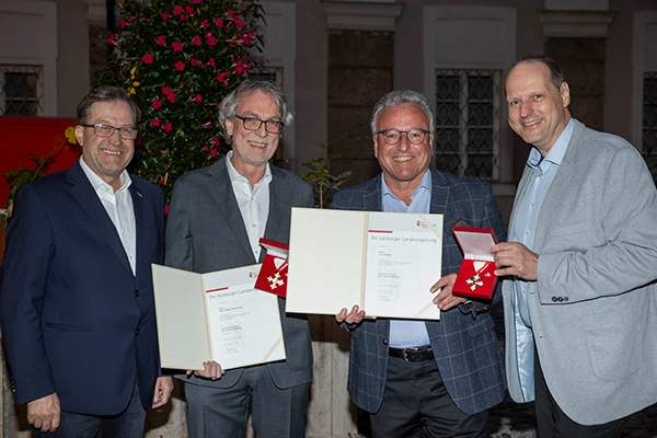 Verleihung Verdienstzeichen | © Land Salzburg / Leopold Neumayr