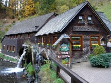 Hexenlochmühle bij Furtwangen
