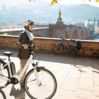 Tourenstart in Heidelberg
