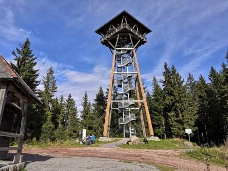 Riesenbühl-toren bij Schluchsee