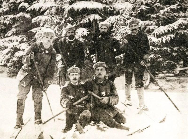 Die Gründer vom Skiclub Todtnau 1891 e.V.