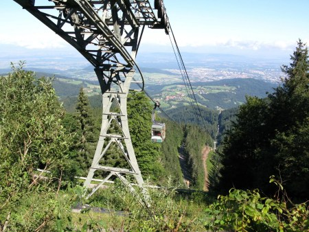 Cable car to the Schauinsland
