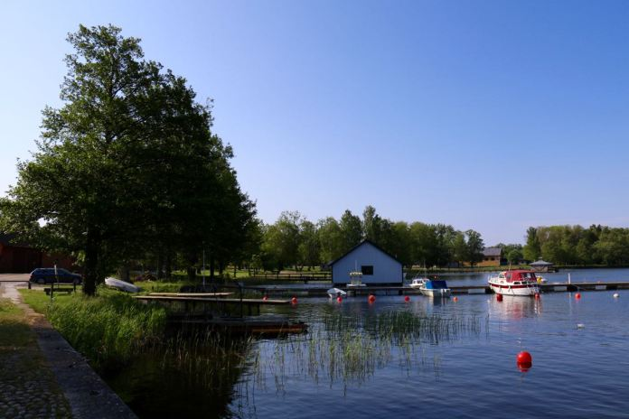 In Karlsborg ist nicht nur die Festung sehenswert. (Foto Andrea Ullius)