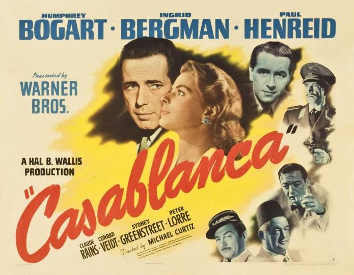 Ein Klassiker: Casablanca mit Ingrid Bergmann und Humphrey Bogart. (Foto z.V.g)