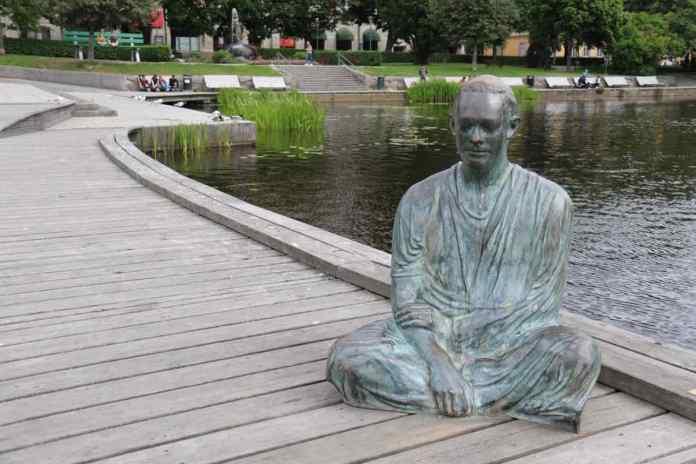 Auf Kunst im öffentlichen Raum legt man in Örebro grossen Wert. (Foto: Andrea Ullius)