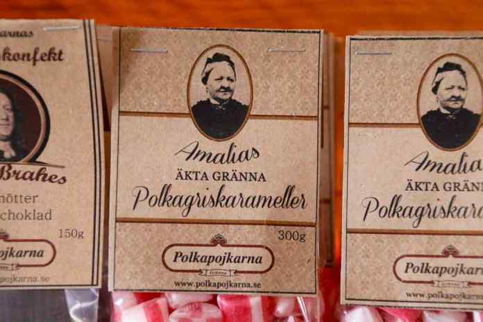 Amalia Erikson hat die Polkagris erfunden. (Foto: Markus Ullius)