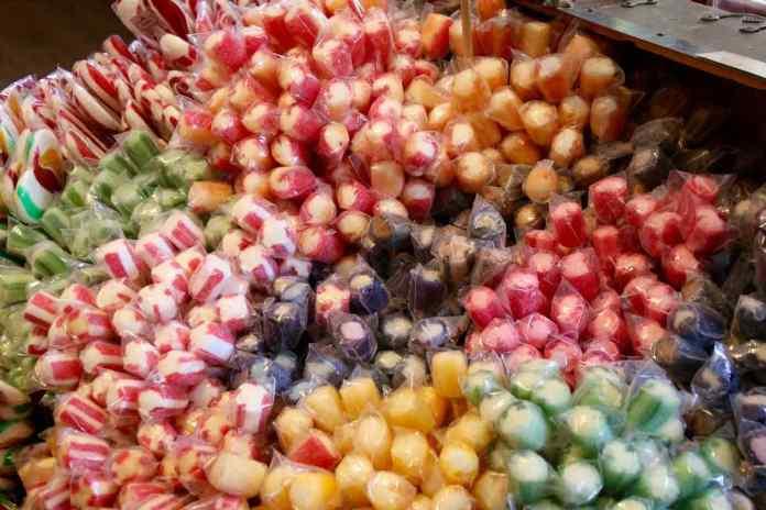 Süssigkeiten in allen Farben und Geschmacksrichtungen. (Foto: Andrea Ullius)