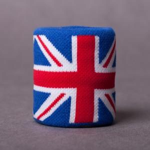 Jacquard-Schweißband UK flag