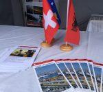 Stand der Gesellschaft Schweiz-Albanien am Albanian Festival