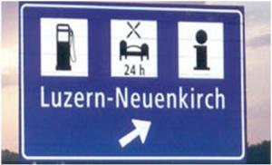 Raststätte Luzern-Neuenkirch an der A2 Bild: www.luzerner-raststaette.ch