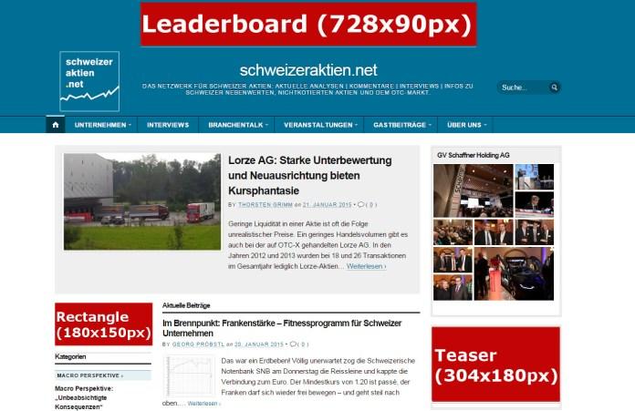 Bannerpositionen_website