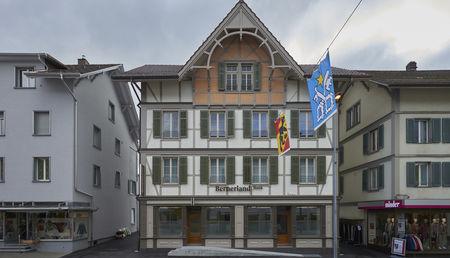 Die Geschäftsstelle in Hutwil wurde im 2015neu eröffnet. Quelle: BLB