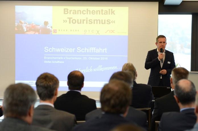 Stefan Schulthess, CEO der SGV, referierte am Branchentalk. Bild: Sandra Blaser