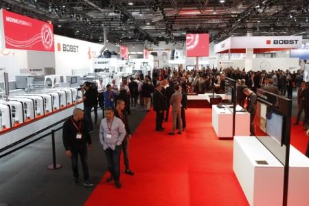Die Bobst-Gruppe präsentiert ihre Produkte an der Fachmesse Drupa 2016. Bild: www.bobst.com