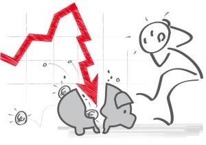 Negativzinsen bedrohen das Vorsorgekapital und setzen die Pensionskassen unter Druck. Bild: Fotolia