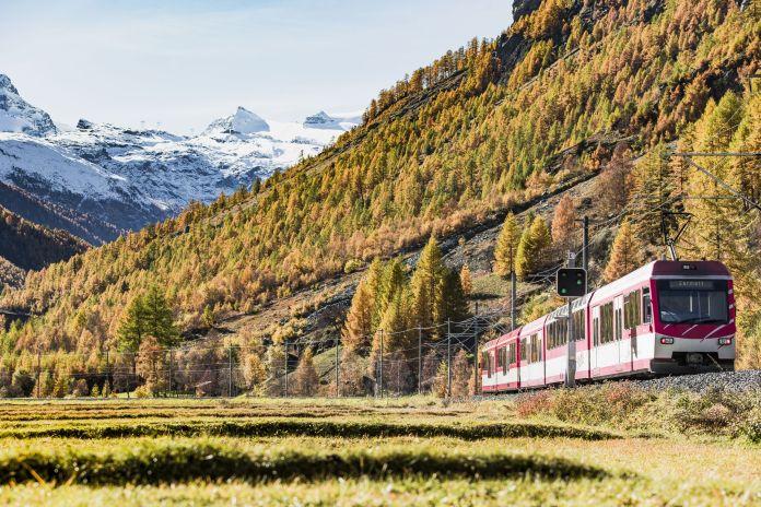 Der Zermatt-Shuttle wird auch im Herbst rege genutzt.