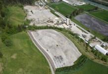 Der Abbau von Kies benötigt hohe Landreserven.
