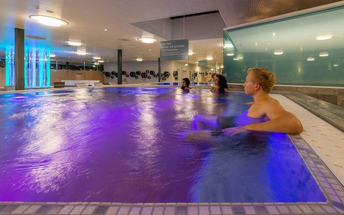 Heisses Wasser erfreut die Badegäste besonders an kalten Tagen.