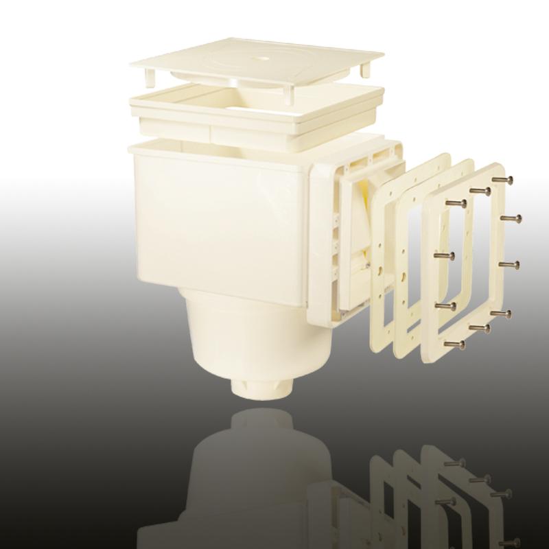 V10 Skimmer für Folien- und vorgefertigte Becken Cremeweiß Image