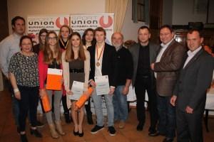 SPORTUNION Burgenland SportlerInnen-Ehrung für das Jahr 2013-2014