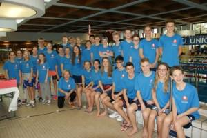 SPORTUNION Bundesmeisterschaft Schwimmen in Eisenstadt - Team Burgenland mit starken Leistungen