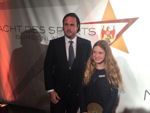 "Anastasia Barcal gewinnt ""Wolfgang Mesko Talente Trophy"""