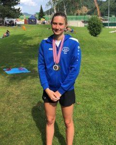 Karoline Schwarz holt sich Silber und Bronze