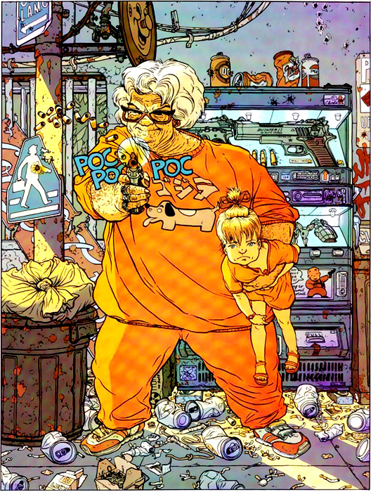 Hard Boiled de Geof Darrow